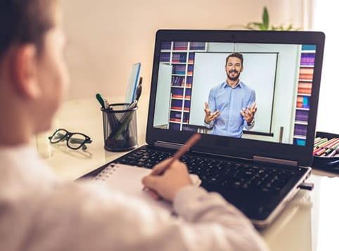K-12 Student Chromebook Online Learning