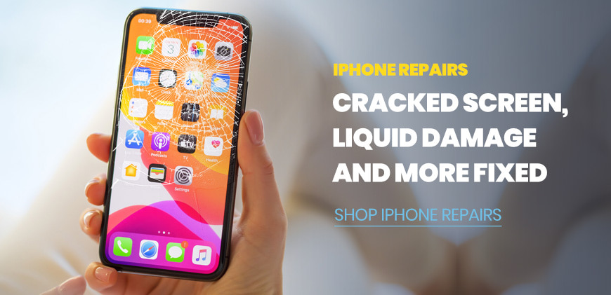 iPhone Repairs: Cracked screen, liquid damage, and more fixed - Shop iPhone Repairs