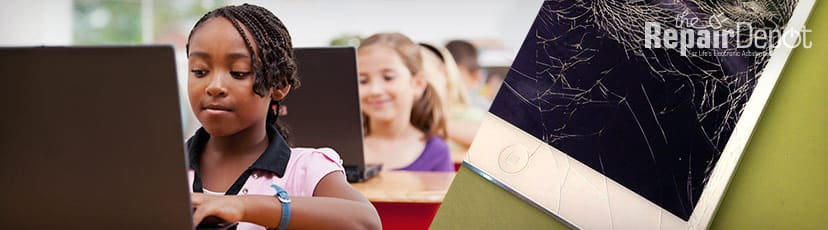 K-12 School 1:1 Program Educational Device Repair for Chromebooks, iPads and more